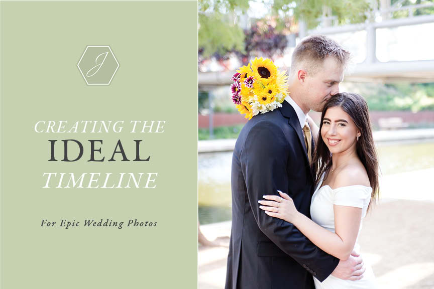 Creating a wedding timeline