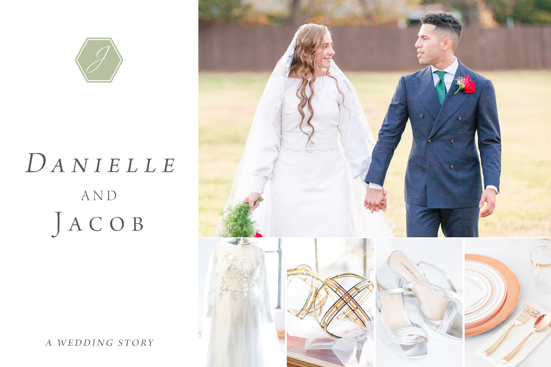 Wedding Blog Featured Danielle and Jacob